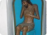 Деревянная скульптура Спаситель в темнице. XIX в.