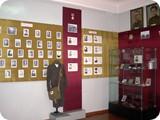 Фрагмент экспозиции в зале боевой славы