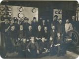 Участники открытия электростанции, 1913 г.